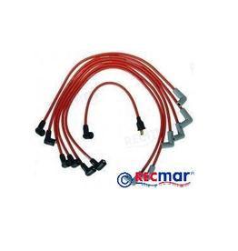 RecMar Volvo / Mercruiser / OMC / Crusader Spark plug wire set (3857166, 84-813720A7, 84-816761Q7)