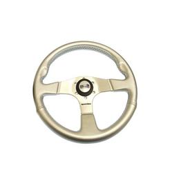 Golden Ship Steering Wheel 'Albatros'