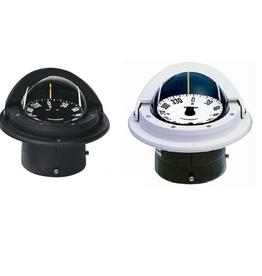 Ritchie Kompas voor zeil-motorboten tot 9 meter, zwart/wit