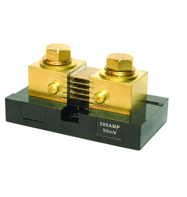 Blue Systems DC analoog meter SHUNT 500A/50Mv