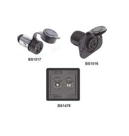 Blue Sea Dubbel USB lader socket
