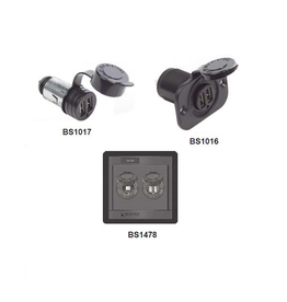 Blue Systems Dubbel USB lader socket