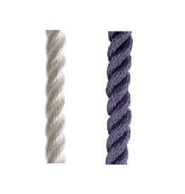 Poly ropes 3-strand rope very light per meter