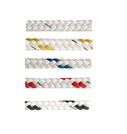 Poly ropes Double braided rope (per meter)