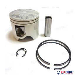 RecMar YAMAHA PISTON KIT 150/175/200/225 PK (REC64D-11631-00K)