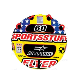 "SPORTSSTUFF ""AIR FORCE"" towable 1 pers Fun tube"