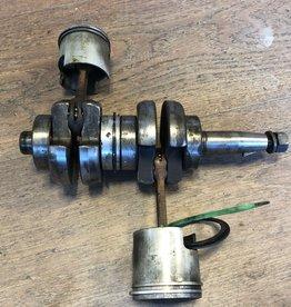 Yamaha 6/8A 2t Krukas en Zuigers (647-11400-00)