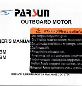 Yamaha/parsun buitenboord F6ABM/F5ABM gebruikershandleiding
