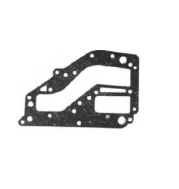 (32) Yamaha exhaust inner cover gasket 25VE/M/B/BMH E25A 30HM/HW/G/GE E30HMH (REC6K8-41122-A1)