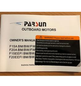 Yamaha/Parsun buitenboord F15A/F20A/F15EEFI/F20EEFI gebruikershandleiding