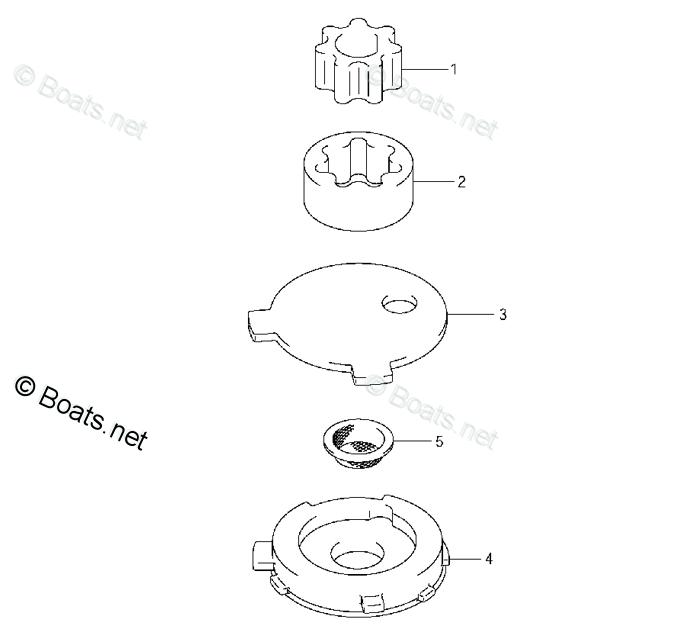 Suzuki / Johnson 4/5/6 PK 4 Takt Oil Pump (16131-91J00, 16132-91J00, 16171-91J00, 16510-91J00, 16161-91J00)