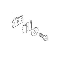 Suzuki / Johnson 4/5/6 PK 4 Takt Connector Clutch Rod (09128-06014, 09160-06145, 23321-91J00, 23310-91J00)