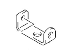 Suzuki / Johnson 4/5/6 HP 4 Stroke Holder Lower Cover (61827-91J00)