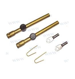 Kabel kit adapters voor C2-kabels naar Johnson/Evinrude kabels AB kant