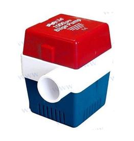 Rule Bilge pomp vierkant 3000 l/h tot 3800 l/h