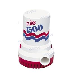 Rule Bilge pump 5700 l/h to 7600 l/h 12V / 24V