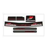 Mercury MerCruiser Alpha 1 gen 2 Sticker set