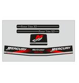 Mercury MerCruiser Alpha 1 gen 2 rood Sticker set