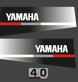 Yamaha 40 bouwjaar 1986 tot 1991 Sticker set