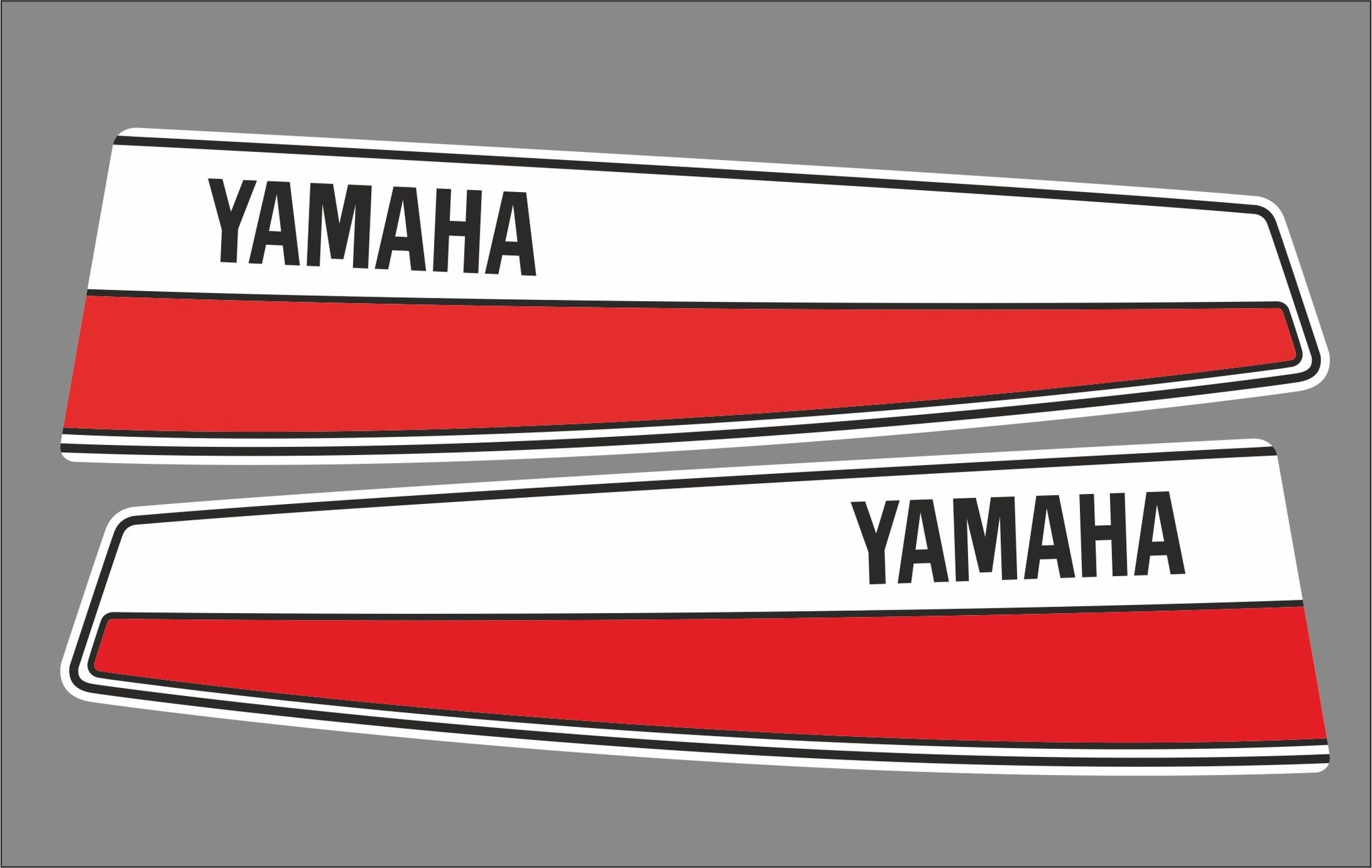 Yamaha 28 bouwjaar 1983- 1988 Sticker set