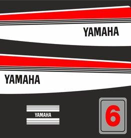 Yamaha 6 year 1983- 1988 Sticker set