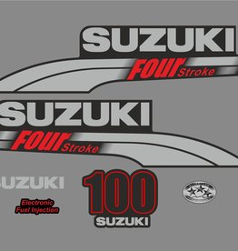 Suzuki 100 PK  bouwjaar 2003-2009 sticker set