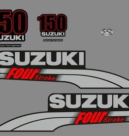Suzuki 150 HP year range 2003-2009 sticker set