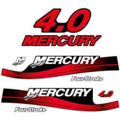 Mercury Mariner Buitenboordmotor Sticker set