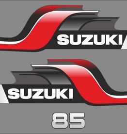 Suzuki 85 HP year range 1998 sticker set