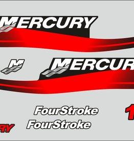 Mercury 15 PK  bouwjaar 1999-2006 sticker set