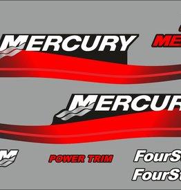 Mercury 25 PK  bouwjaar 1999-2006 sticker set