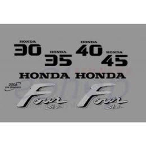 Honda Buitenboordmotor Sticker set