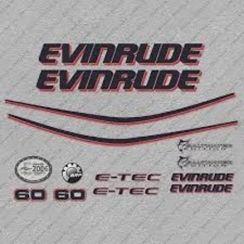 Johnson / Evinrude Buitenboordmotor Sticker set
