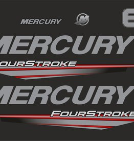 Mercury 6 HP year range 2015-2019 sticker set