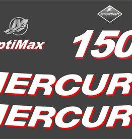 Mercury 150 PK  bouwjaar 2006 sticker set