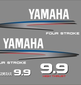 Yamaha 9.9 HP year range 2002-2006 Sticker set