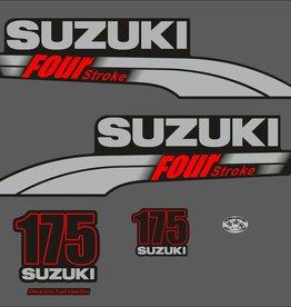Suzuki 175 HP year range 2003-2009 sticker set