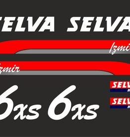 Selva 6 HP year range 2005-2006  sticker set