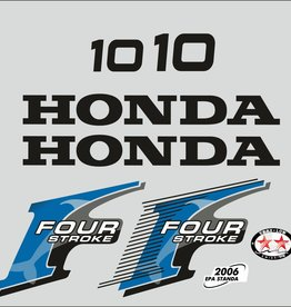 Honda 10 HP year range 2006 sticker set