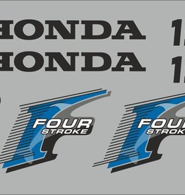 Honda 15 HP year range 2006 sticker set