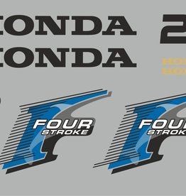 Honda 25 HP year range 2006 sticker set