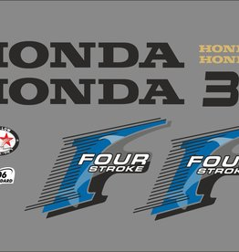 Honda 30 HP year range 2006 sticker set