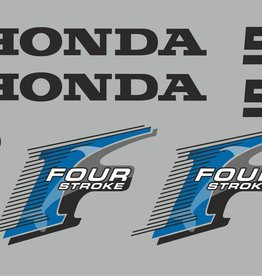 Honda 5 HP year range 2006 sticker set