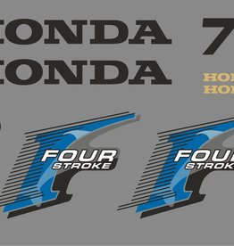 Honda 75 HP year range 2006 sticker set