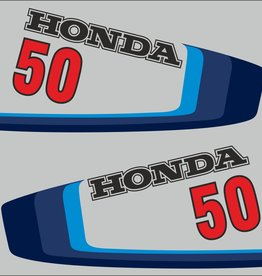 Honda 50 5 HP year range 1980 sticker set