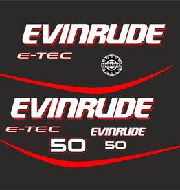 Johnson/Evinrude 50 E - tec year range 2006 sticker set