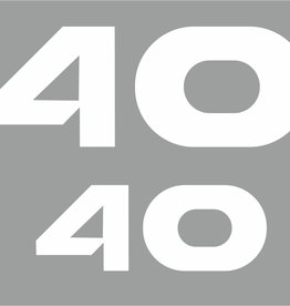 Yamaha 40 HP year range 1998-2006 Sticker set