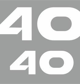 Yamaha 40 PK bouwjaar 1998-2006 Sticker