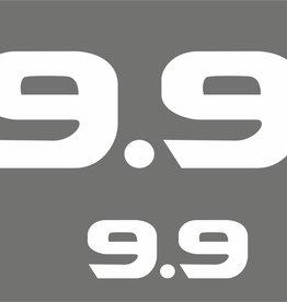 Yamaha 9.9 HP year range 2002-2006 Sticker set