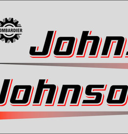 Johnson/Evinrude 9.9 PK sticker set
